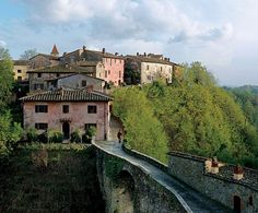 Il Borro, Ferragamo's estate in Arno valley.