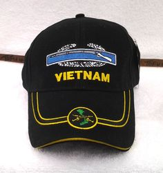 9c5aca9e7cd Combat Infantry Cib Vietnam Military Veteran Cotton Us Army Hat 5427 Mtec
