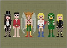 Friends of the Justice League pattern on Craftsy.com