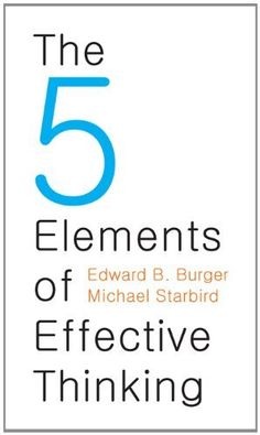 The 5 Elements of Effective Thinking  ($5.32) - Very easy to follow book. - I highly recommend this book to anyone looking to change their approach to learning, and innovating. - We all need to improve and refine the thinking process, to think more effectively, and this book is a great place to start. http://www.amazon.com/exec/obidos/ASIN/B008JUVDUE/electronicfro-20/ASIN/B008JUVDUE