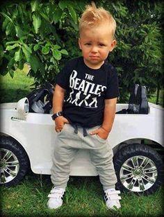 my son is handsome boy