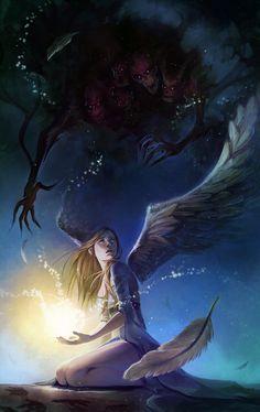 Fallen Angel by Alicechan on deviantART