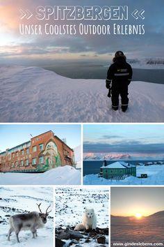 Coolstes Outdoor Erlebnis 2018 – es wird im wahrsten Sinne des Wortes richtig cool! Eigentlich sogar mehr als das… es geht nach Spitzbergen! Unser Abenteuer Arktis! www.gindeslebens.com #Arktis #Abenteuer #Spitzbergen #Outdoor #Erlebnis #Travel Longyearbyen, Tromso, Rafting, Reisen In Europa, Places To Go, Wanderlust, Mountains, Nature, Poster