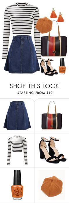 """That 70's Outfit"" by katievicky on Polyvore featuring Miss Selfridge, Nasty Gal, OPI and WithChic"