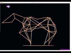 horsepower: Horse movement - example 2: Theo Jansen mechanism