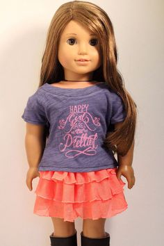 "RihannaCo CUTE DOLL CLOTHES FITS 18"" AMERICAN GIRL DOLL CLOTHES- 4231 in 