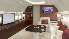 Lufthansa Technik ACJ319 Elite | 20 Jaw-Dropping Private Aircraft Interiors