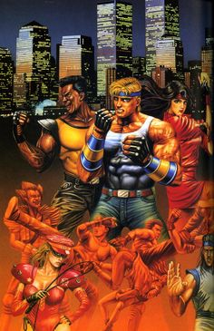Streets of Rage/Bare Knuckle...Just shoot em with an RPG from the cop car!