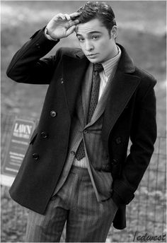 CHUCK BASS I mean he deserves to be in my fashion section...no?