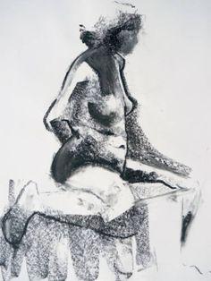 "Saatchi Art Artist Zach Krasner; Drawing, ""Impression No. 22"" #art"