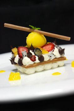 De-constructed fruit tart. - The ChefsTalk Project
