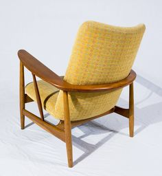 Pair of Finn Juhl SW-86 Lounge Chairs | From a unique collection of antique and modern lounge chairs at https://www.1stdibs.com/furniture/seating/lounge-chairs/