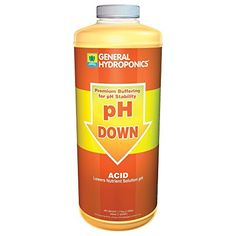 Gardening Hand Tools - General Hydroponics pH Down Liquid Fertilizer 1Quart -- Visit the image link more details. (This is an Amazon affiliate link)
