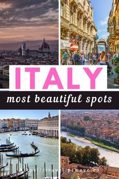Discover the best places to visit in Italy. The article presents you the most beautiful spots in Italy, both famous cities, as well as offbeat things to see in Italy.  Read the article now and create your Italy bucket list!  #italy #traveldestinations #travelmomentsintime #europe #europetravel #italythingstodo Venice Travel, Rome Travel, Travel Europe, European Travel, Italy Travel Tips, Travel Destinations, Beautiful Places To Visit, Cool Places To Visit, Great Places To Travel