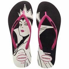 353d81d68cde0a Havaianas Slim Disney Art - Evil Queen Women s Flip-Flops Brazil All  Sizes Mdls