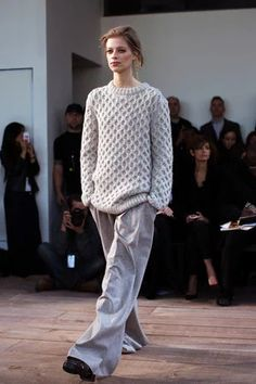 """knit and wide pants"" https://sumally.com/p/1283442?object_id=ref%3AkwHNIoyBoXDOABOVcg%3APgBa"