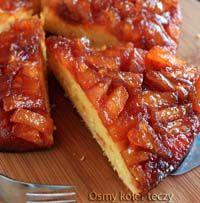 Cytrynowe ciasto z karmelem i ananasem. | Ósmy kolor tęczy - Blog kulinarny