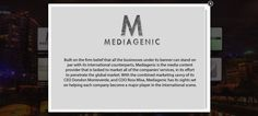 Mediagenic's About us
