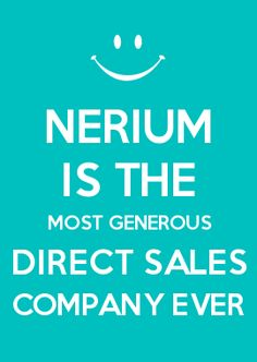 NERIUM IS THE MOST GENEROUS DIRECT SALES COMPANY EVER
