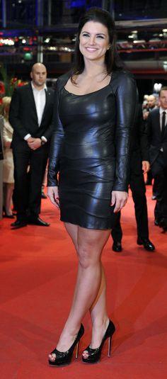 Gina  Carano is een Amerikaans vechtkunstenares en actrice. Naast films acteerde ze ook in het computerspel Command & Conquer: Red Alert 3 waarin ze de rol van Natasha Volkova vertolkte.