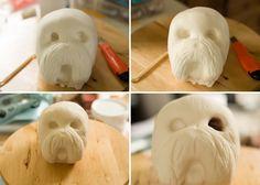 Dog face tutorial