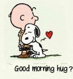 snoopy love hug