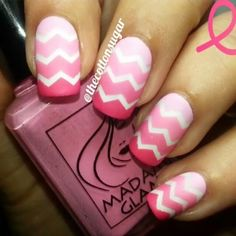 Tutorial  for my pink chevron mani  hope you like it. Vinyls from @whatsupnails.  Tutorial  del diseño chevron rosa  espero que os guste. Vinilos de @whatsupnails.  Music:  The love you need - Mase  #Padgram