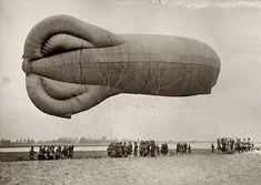 Shorpy Historical Photo Archive :: Army Balloon: 1918