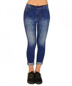 Γυναικείο τζιν παντελόνι boyfriend μπλε Z31B  γυναικείατζιν  παντελόνια   μόδα  γυναίκα  ψηλόμεσατζιν f931f4f7e34