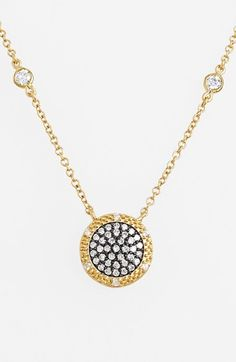 Freida Rothman 'The Standards' Disc Pendant Necklace available at #Nordstrom