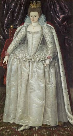 Elizabeth Vernon, (1572-1655) Countess of Southampton, wife of Henry Wriothesley, lady-in-waiting to Elizabeth I