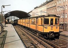Berliner U-Bahn 1968 (im Westen)