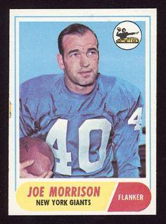 Joe Morrison, New York Giants.
