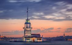 istanbul's maiden's tower by salam mahyoub on 500px