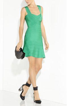 Elisha Novelty Essentials Bandage Dress