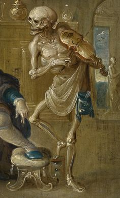 Signifier 13. Frans Francken (II) (1581–1642). Der geigende Tod (detail) circa 1630