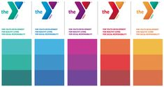 YMCA color palette - I think I have the codes memorized.