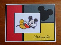 "SC95--Mickey..""thinking of you"""