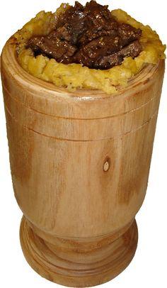 Mofongo Relleno de Churrasco