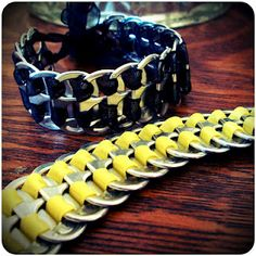 Halfway To Hipster: Pop Tab Bracelets