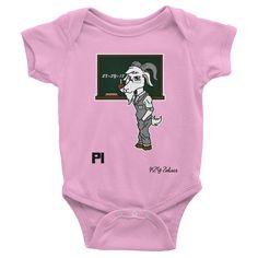 Pi Goat Chinese Zodiac Baby Onesie – Stellar Names