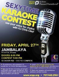 Sexytime Karaoke Contest, April 27