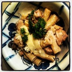 """Rigatoni """"D"""" from Maggiano's Love this dish from my fav Italian restaurant! Definitely, not low cal or low fat but yummy!!"""