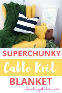 Home Decor Archives - Colorful Frames, Colorful Decor, Cable Knit Blankets, Colourful Living Room, Chunky Blanket, Arm Knitting, Modern Colors, Autumn Inspiration, Home Decor Styles
