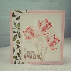 Image result for stampin up lotus blossom card ideas