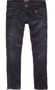 skinny cord 7/8 pants