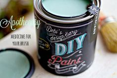 DIY non toxic chalk type paint comes in three sizes, 8 oz sample jar, perfect for a small project like a chair or small side table. 16 oz pint usually more than enough to complete a good size piece of Frozen Painting, Diy Painting, Crackle Painting, Clay Paint, Milk Paint, Annie Sloan, Weather Wood Diy, Chocolate Diy, Porcelain Clay