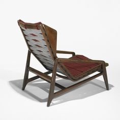 Gio Ponti, Walnut Lounge Chair for Cassina, c1955.