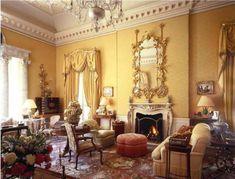 An Edwardian sitting room.