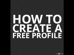 How to Create a Talent Profile with Project Casting